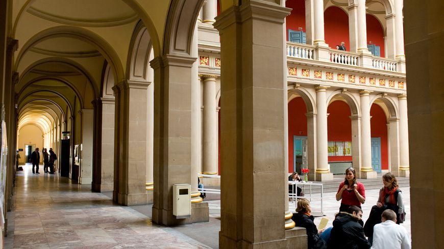 Le palais universitaire de Strasbourg