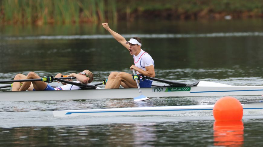A 22 ans, Pierre Houin est devenu champion olympique d'aviron