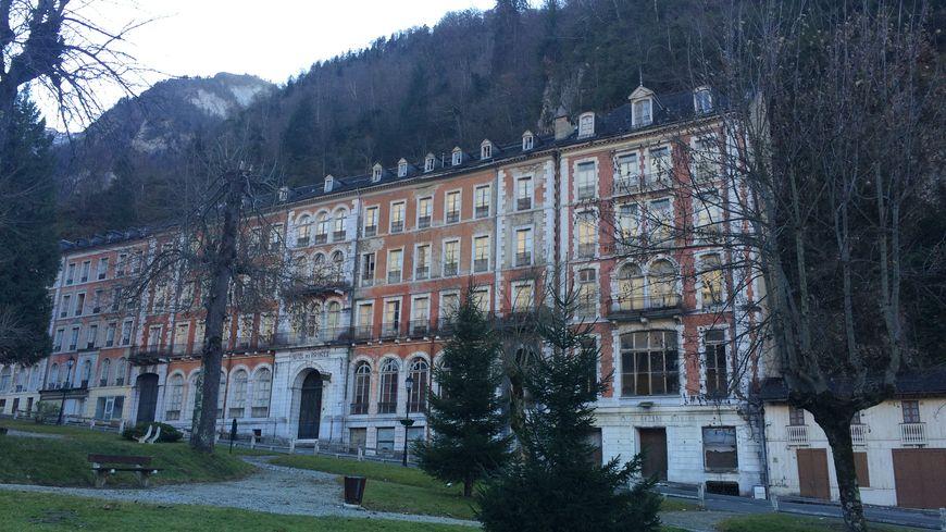 L'hôtel des Princes aux Eaux-Bonnes (image d'archive)
