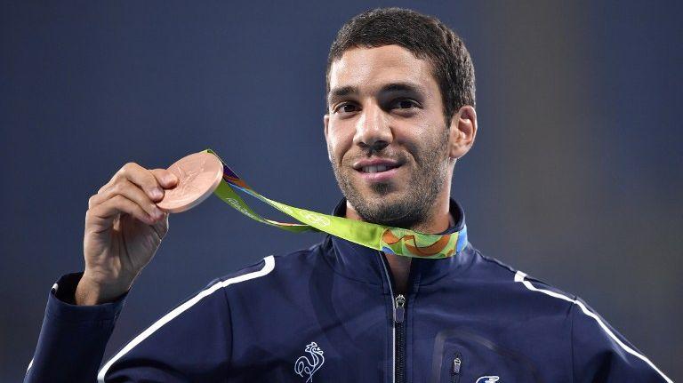 Mahiedine Mekhissi est le seul athlète marnais à avoir décroché une médaille aux JO de Rio
