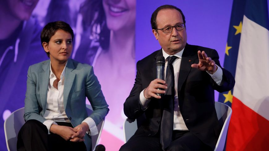 François Hollande sera accompagné de Najat Vallaud-Belkacem.
