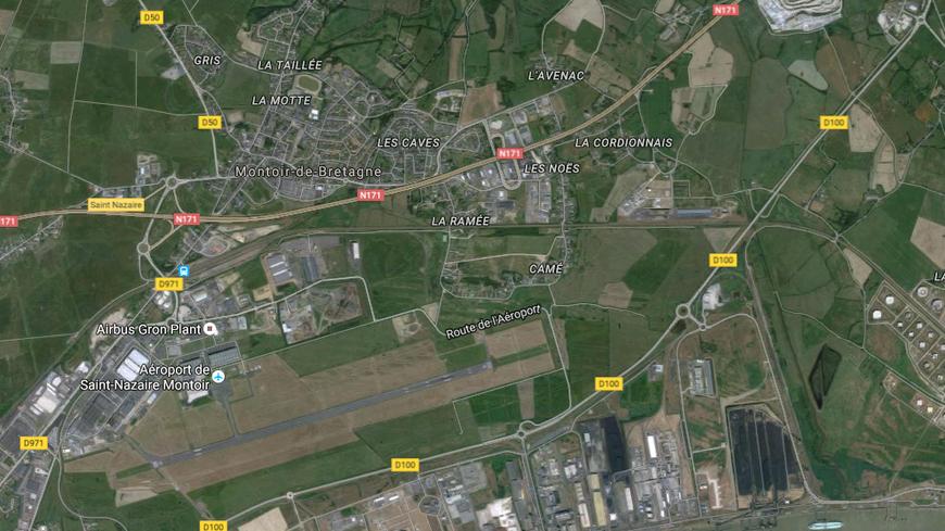 L'accident a eu lieu au niveau de la zone industrielle des Noës