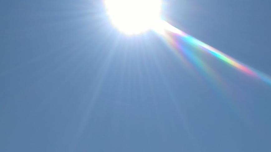 Un soleil de plomb, comme ici à Amiens, dans un ciel sans nuage, digne de la Provence