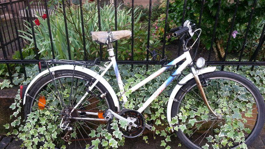 Un vélo abandonné tout l'été à Strasbourg