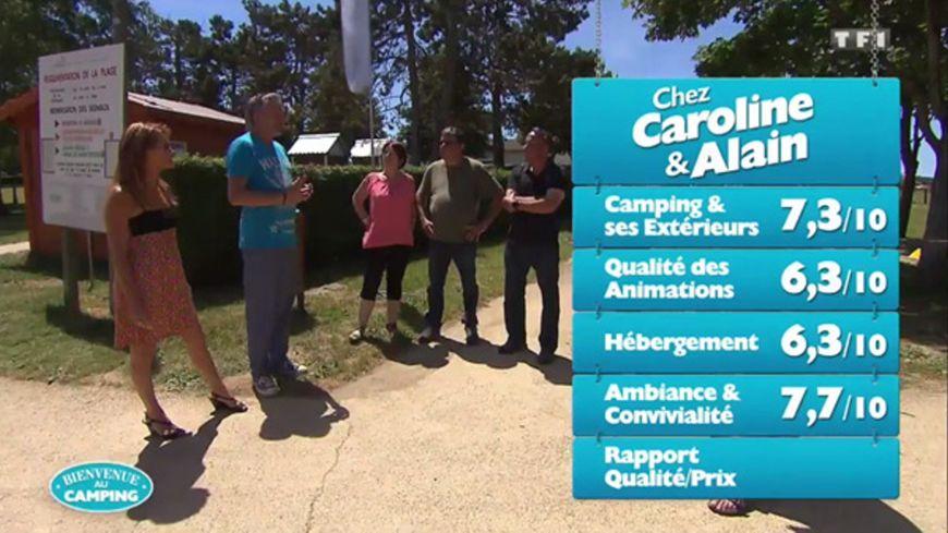 """Le camping tenu par Caroline et Alain a obtenu les meilleures notes lors de l'émission """"Bienvenue au camping)"""