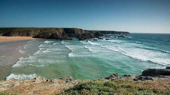 La côte bretonne toujours aussi belle!