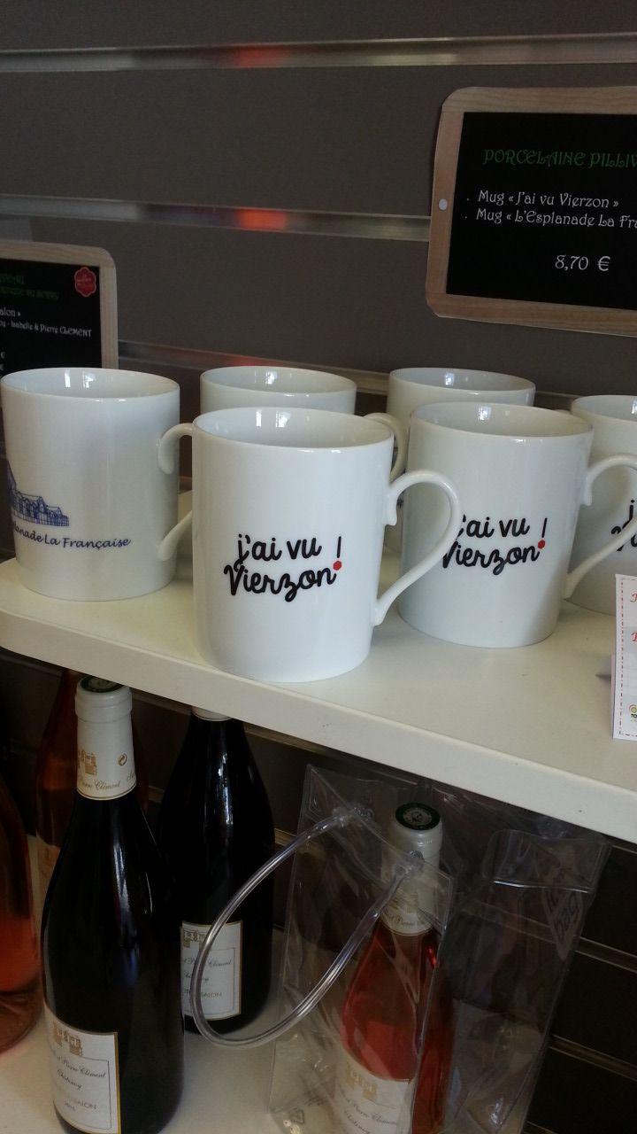 Les mugs sont fabiqués localement à Mehun sur Yèvre, chez Puylevuyt - Radio France