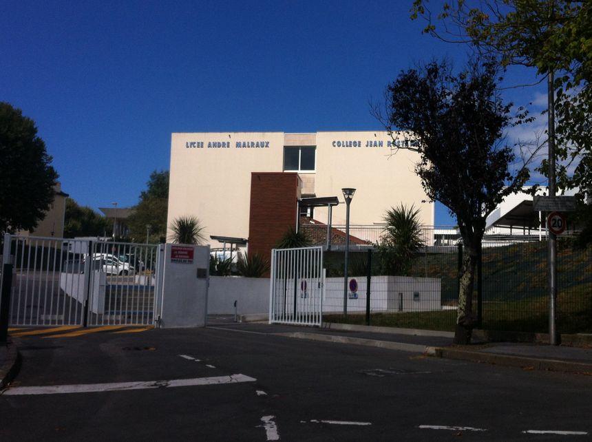 Le lycee Malraux et collège Rostand à Biarritz - Radio France