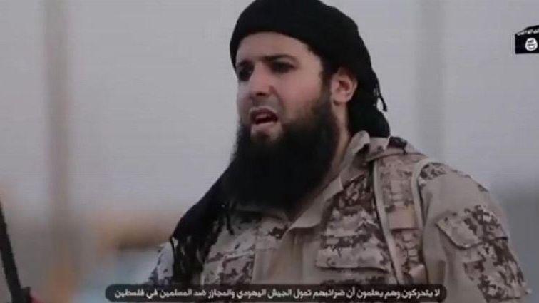 Le Roannais Rachid Kassim dans une vidéo de propagande (capture d'écran)