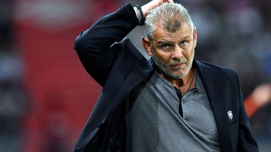 Patrice Garande peut être songeur. Caen aurait pu repartir avec un point de Lyon.