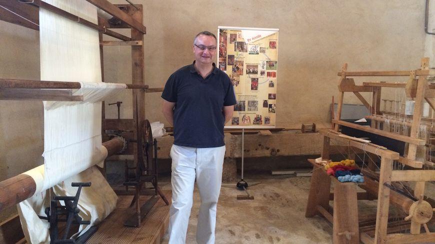 Patrick Choisis, propriétaire du château du Faulin et du musée de l'innovation médiévale