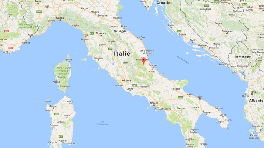 Fausto a vécu le tremblement de terre à 40km de l'épicentre