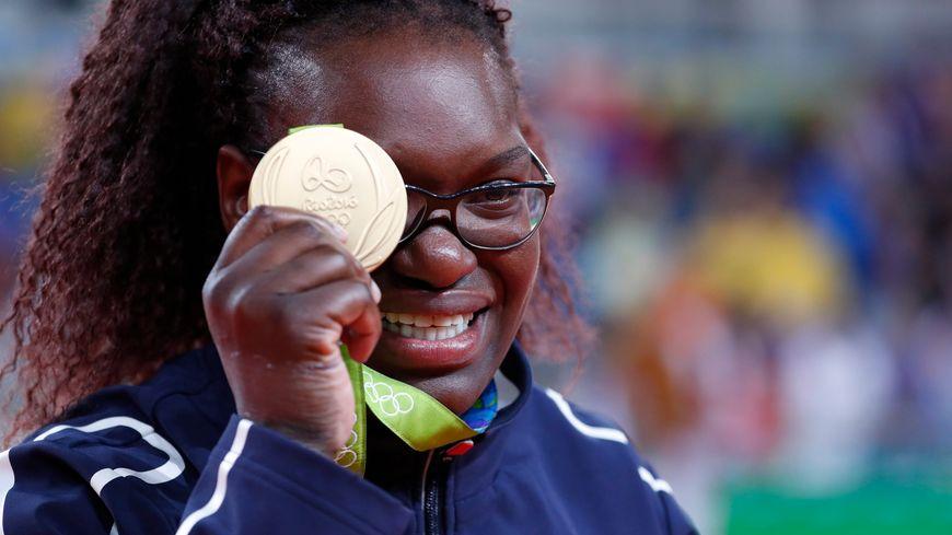 Emilie Andéol en or à Rio
