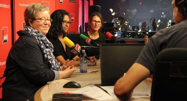 Michèle Bedos, Chantal Le Montagner et Lucie Sarfaty