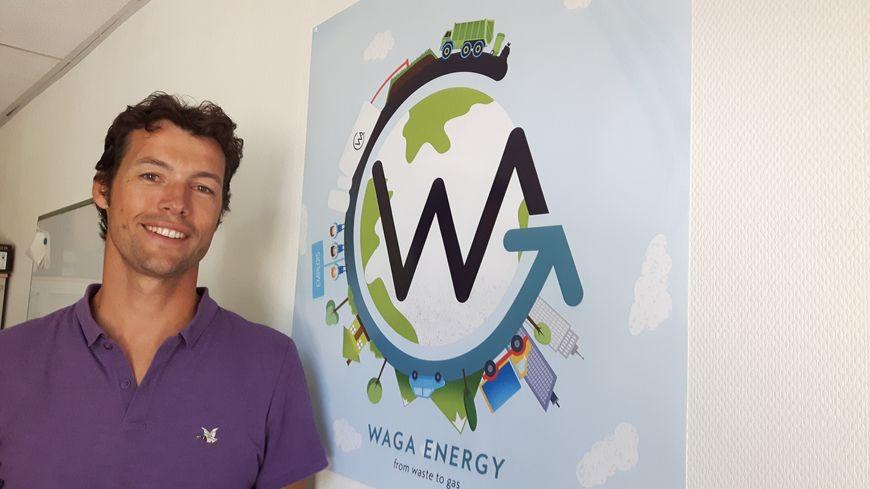 Mathieu Lefebvre, un entrepreneur de Meylan, veut transformer la pollution de nos ordures en biogaz.
