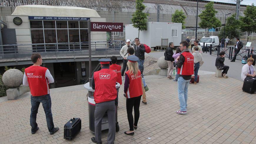 L'entrée de la gare côté Belcier ne sera provisoirement plus possible.