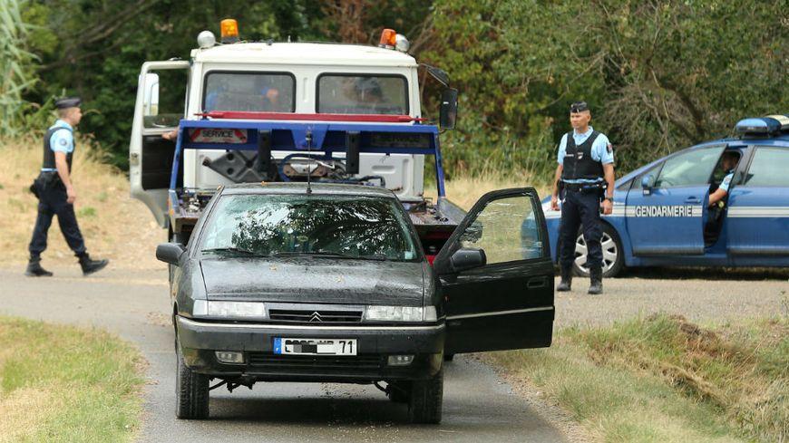 Nathael a été retrouvé vendredi dernier grâce à un témoin dans la voiture de son père au bord de la Sorgues à Bédarrides (Vaucluse).