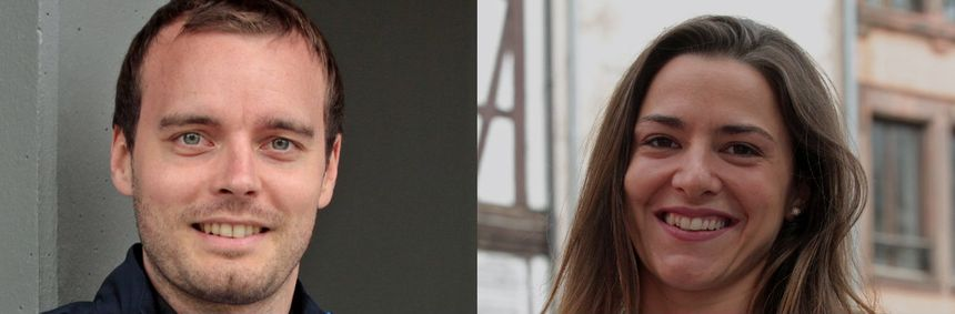 Vincent Anstett et Charlotte Lembach défendront leurs chances au sabre. - Maxppp
