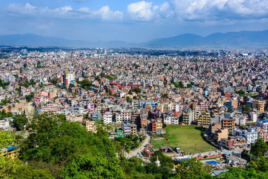 La ville de Katmandou au Népal - Fotolia