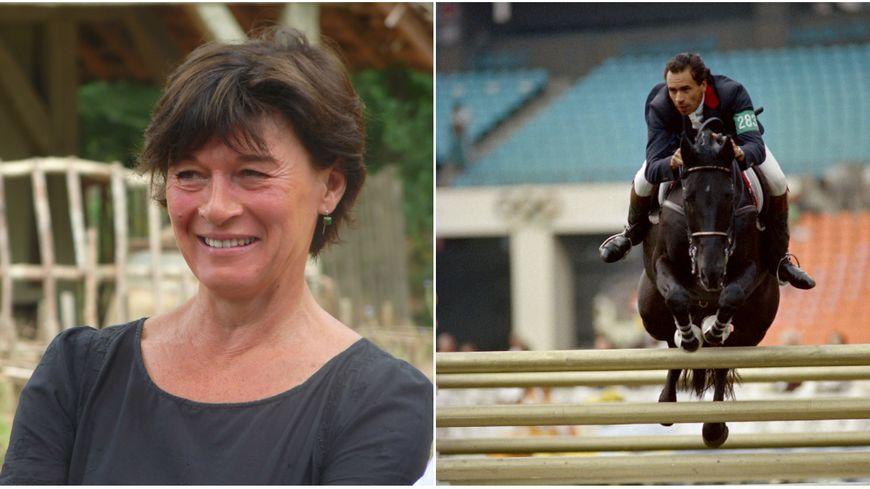 Maryline Martin a été très émue par la victoire de Jappeloup en saut d'obstacles aux JO de séoul