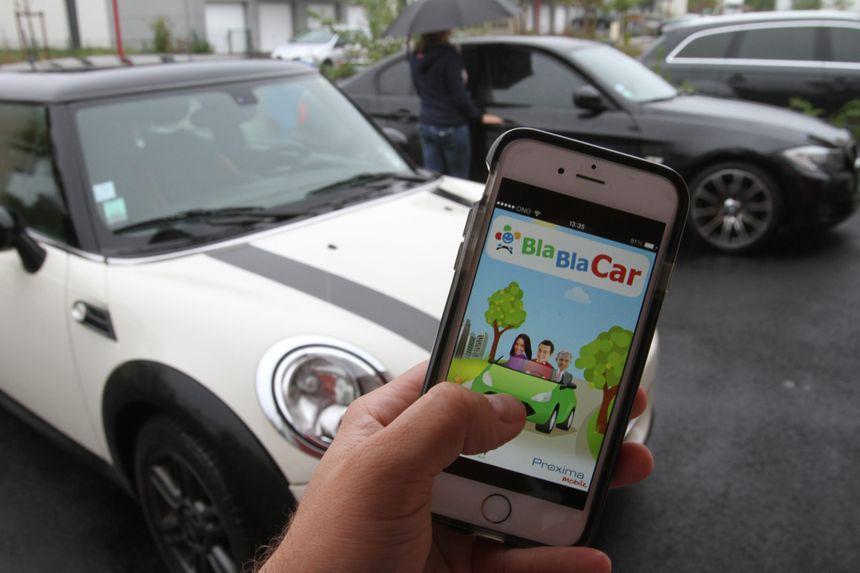 Le site de covoiturage BlaBlaCar a de plus en plus d'adeptes - Maxppp