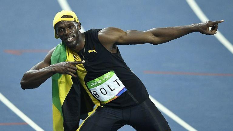Usain Bolt lors des JO 2016 de Rio