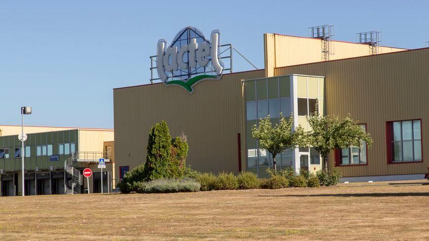 L'usine Lactalis à Laval