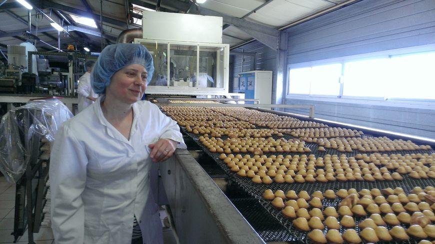 Isabelle Sermadiras, une salariée incontournable des madeleines Boule d'or à St Yrieix la Perche