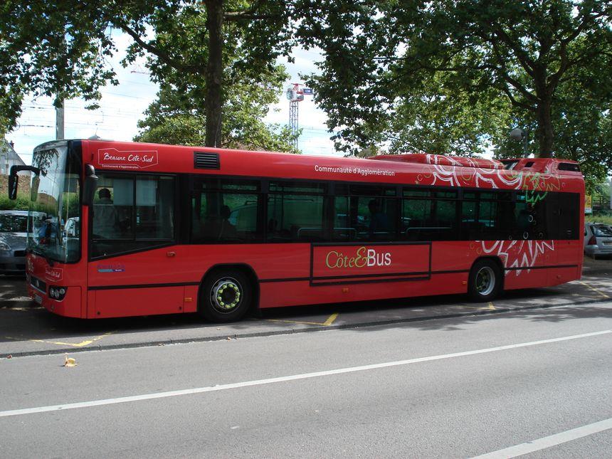 """""""Côté Bus"""", service de transports en commun de la communauté d'agglomération de Beaune - Radio France"""