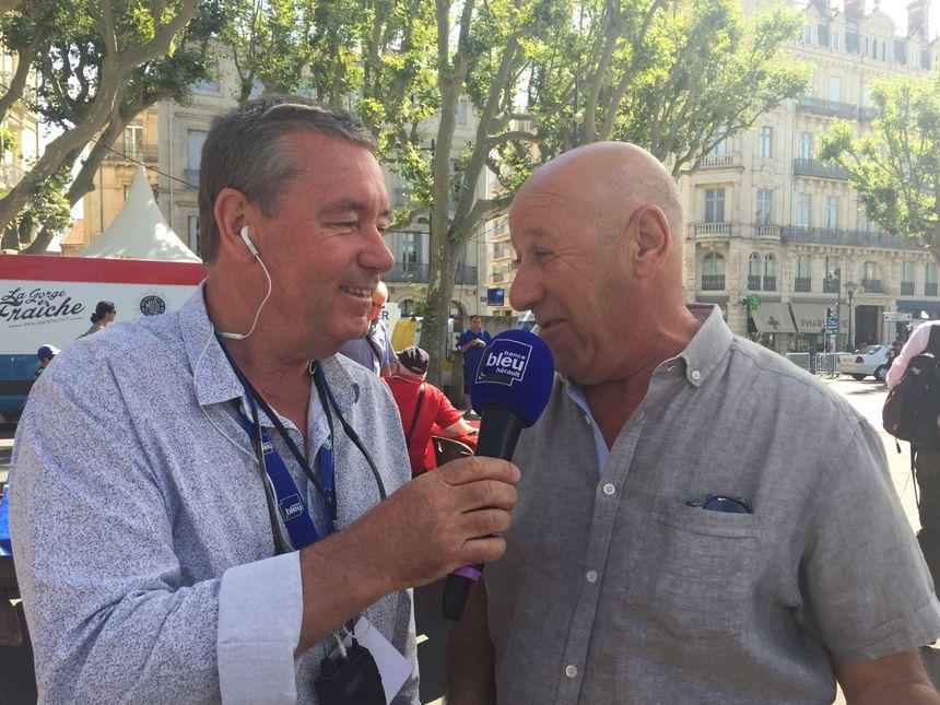 Philippe Montay en direct de la Féria de Béziers - Radio France