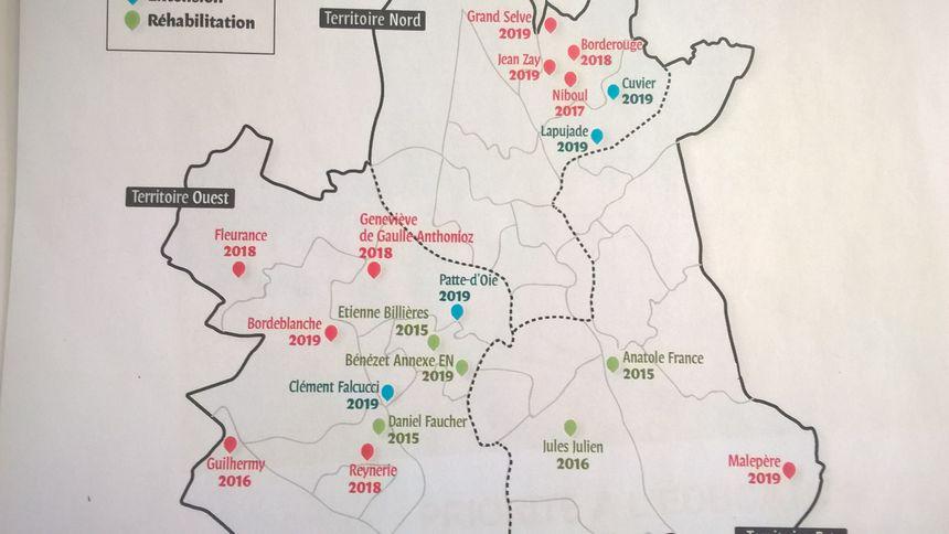 Ces nouvelles écoles serotn surtout dans le Nord et l'Ouest de Toulouse. - Radio France