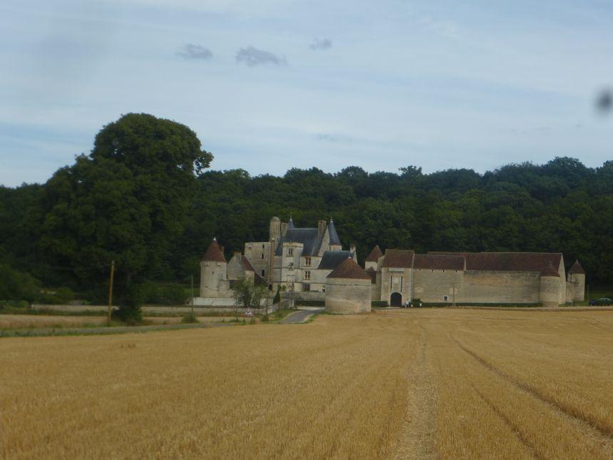 Le château du Faulin à Lichères-sur-Yonne - Radio France