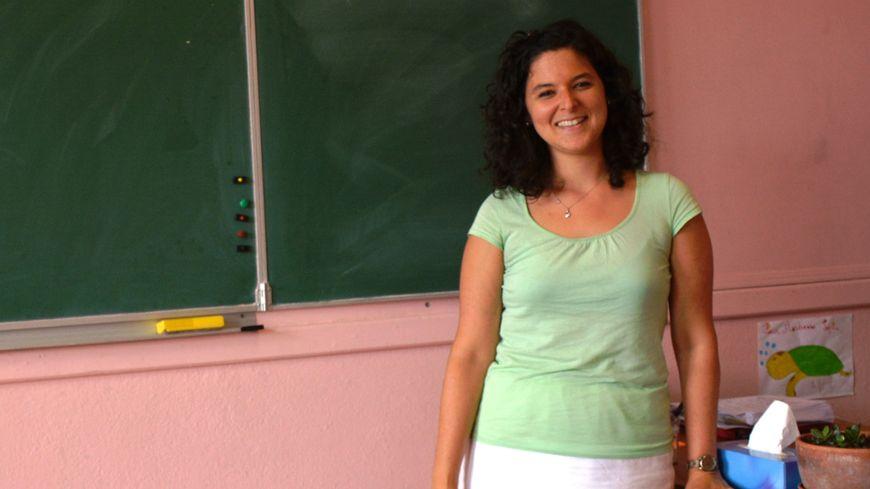 Sophie Commandé, 30 ans, va enseigner à 20 élèves de primaire à Chénérailles (Creuse)