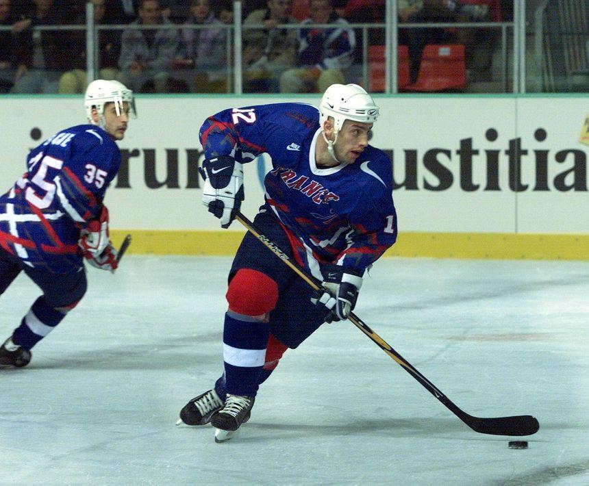 Philippe Bozon a disputé quatre JO et douze championnats du monde avec l'équipe de France. - Maxppp