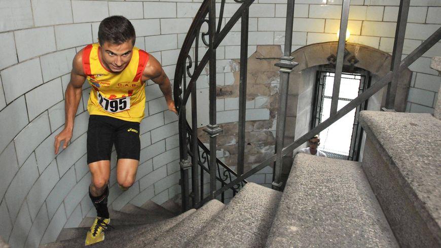 Maxime Signorino, vainqueur de la montée du Phare d'Eckmühl en 2015, conservera-t-il son titre de champion cette année ?