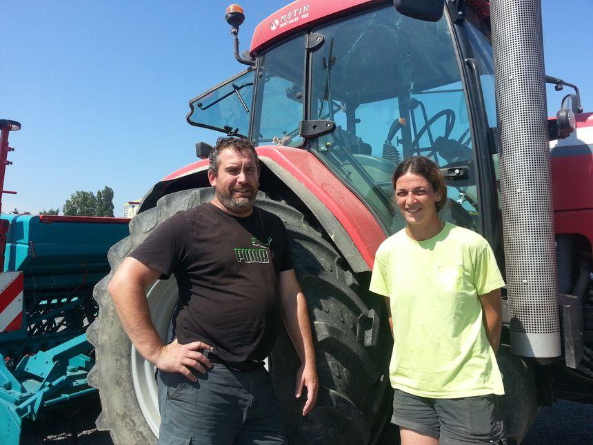 Stéphane Françoise et Astrid Granger déplorent le gaspillage des terres agricoles - Radio France