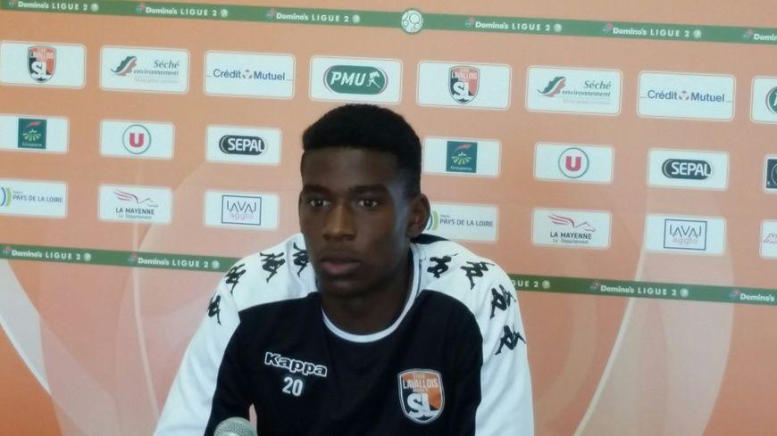 Nordi Mukiélé, le défenseur du Stade Lavallois