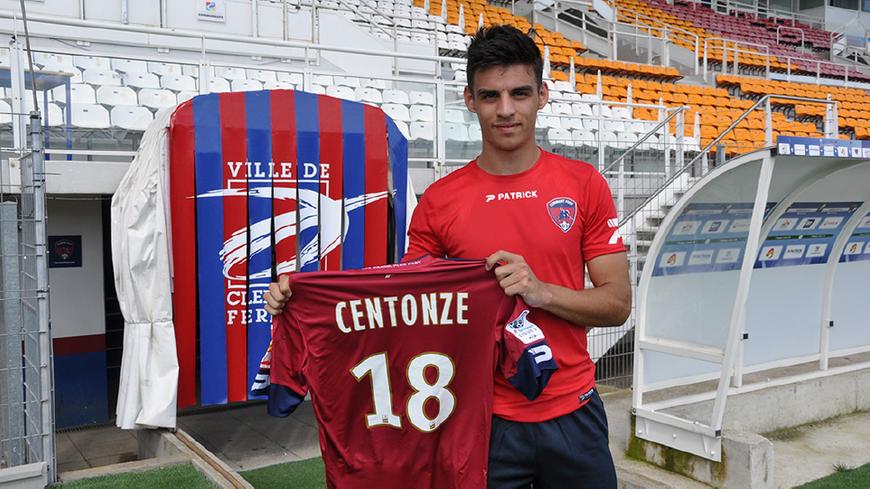 Fabien Centonze s'est engagé pour 4 ans avec le Clermont Foot
