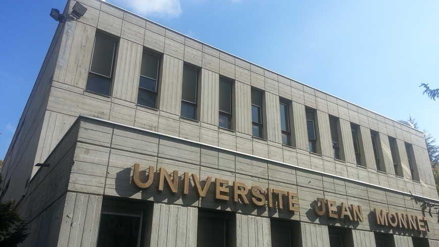 Le campus Tréfilerie de l'université Jean-Monnet à Saint-Étienne.