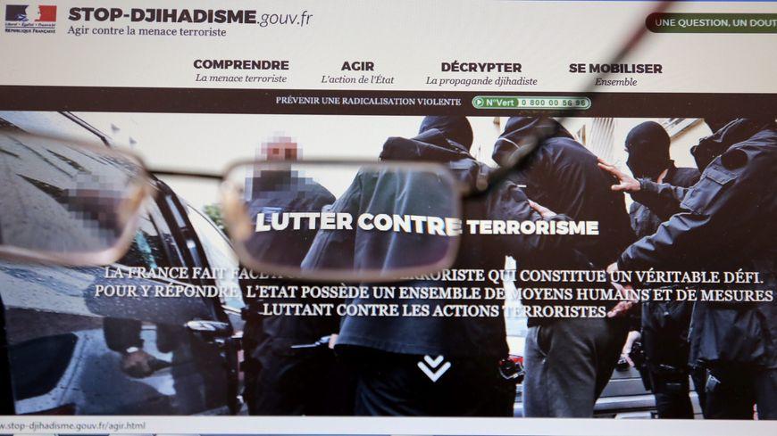 Le site stop-djihadisme.gouv.fr