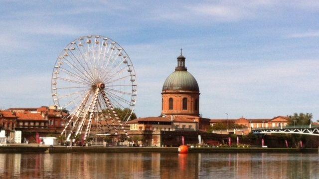 la grande roue au port Viguerie