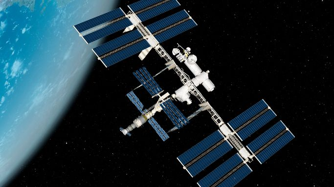 La station spatiale ISS