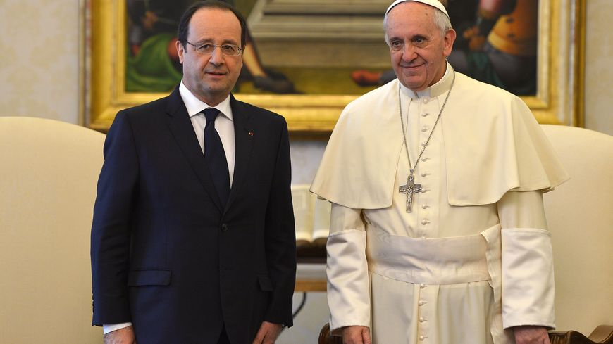 François Hollande rencontre le pape mercredi au Vatican