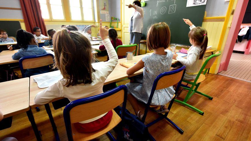 Salle de classe, le jour de la rentrée scolaire 2016