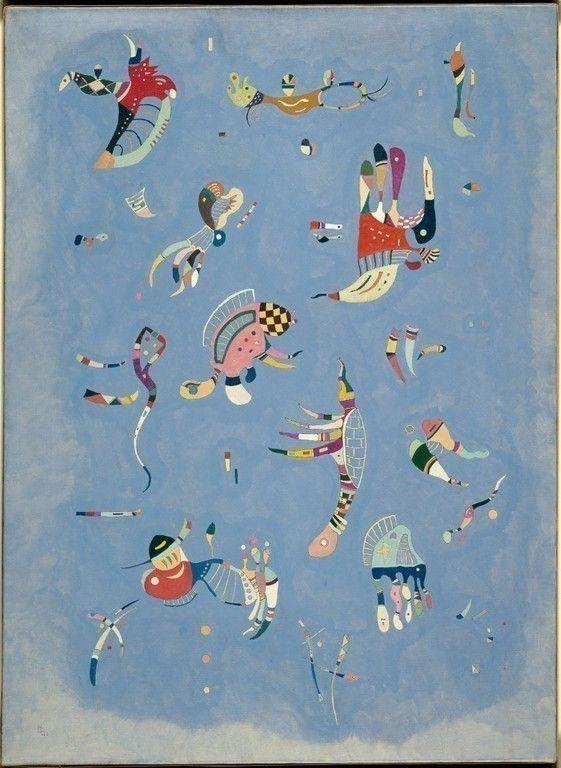 Wassili Kandinsky Bleu de ciel 1940 Musée national d art moderne CCI Centre Pompidou