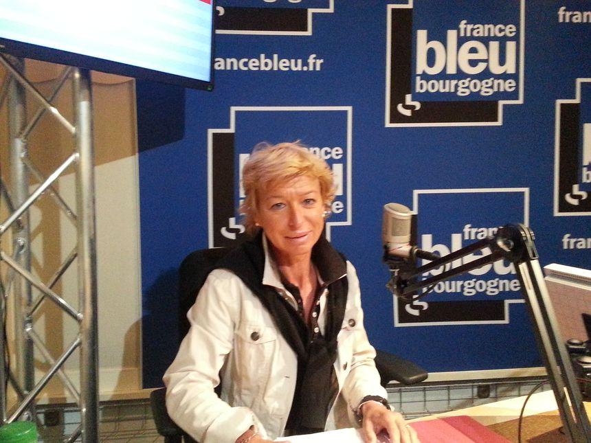 Sandrine Mourey, la secrétaire de l'Union départementale de la CGT en Côte d'or - Radio France