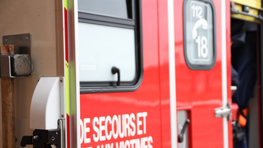 L'accident a eu lieu sur la départementale 918 à hauteur de Ascarat