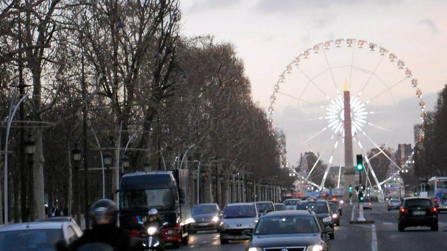 La Grande Roue à Paris