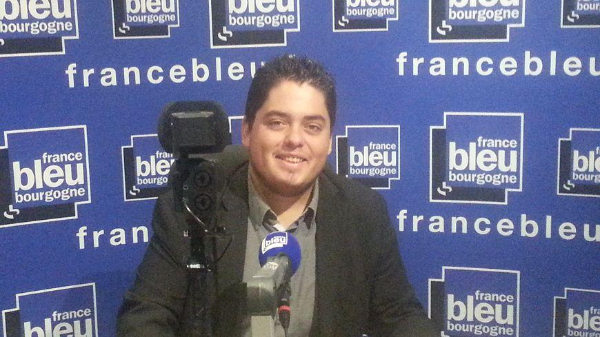 Kévin Garnier est le leader étudiant du groupe Associatifs et Indépendants à l'Université de Bourgogne