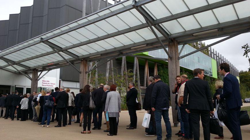 Pendant trois jours, Nantes accueille près de 8000 congressistes.